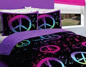 peace sign comforter sets cool bedding peace sign