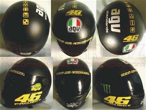 Cutting Sticker Helm Motogp by Valentino Replica Helmet Sticker Valentinorossi