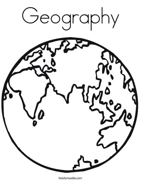 printable geography images geography coloring page twisty noodle