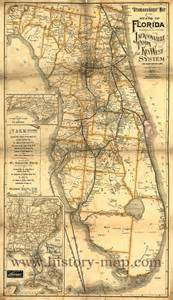 florida railroad map florida railroad map