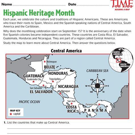 Hispanic Heritage Month Printables