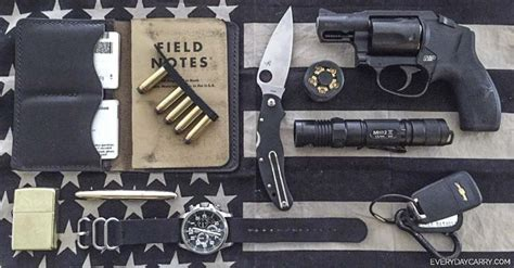 everyday concealed carry everyday carry pocket dump of the day chris the