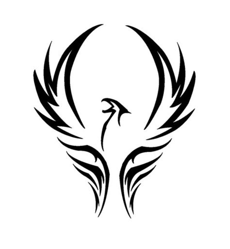 tribal pheonix tattoo the known as a bird of is a mythical