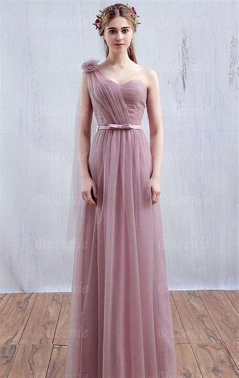 Dress Pretty Dusty Pink tulle dusty pink bridesmaid dress bnned0010 bridesmaid uk
