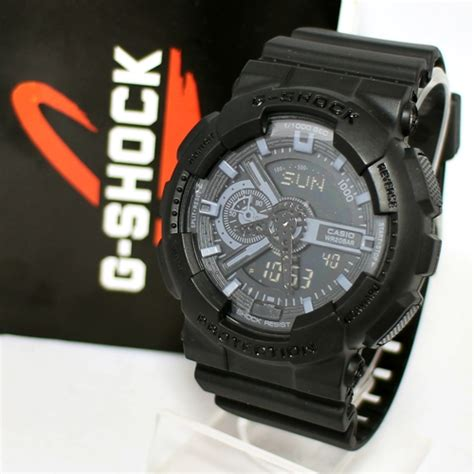 Casio G Shock Kw Gray g shock ga 110 black grey kucikuci shop jam
