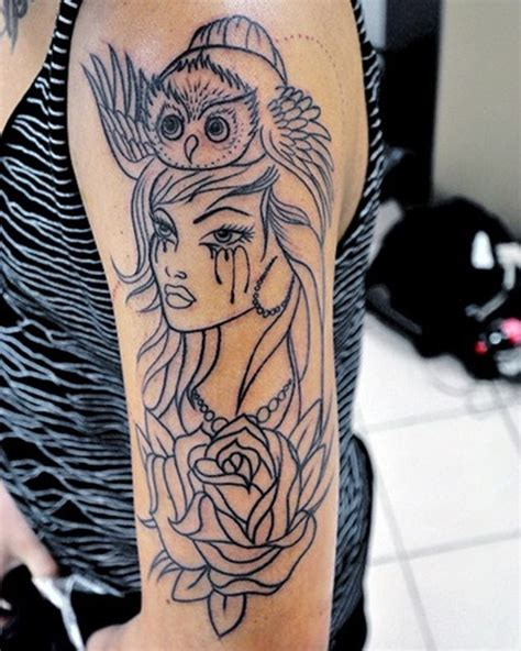 girl tattoo designs on arm best 25 arm tattoos ideas on