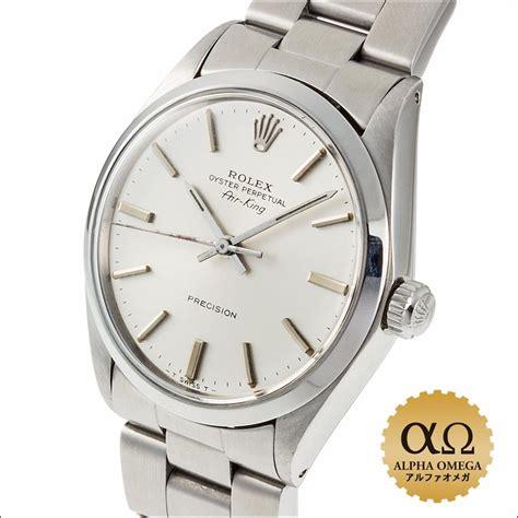 Rolex Harare Silver chuukotokei rakuten global market rolex air king ref 5500 silver 1977
