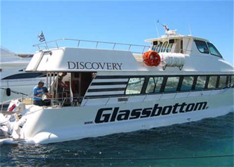 o que glass bottom boat excursiones en barco en mykonos grecotour