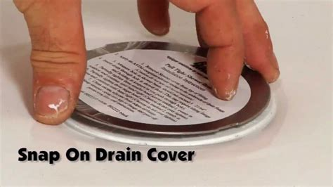 Bathtub Drain Cover Hair Bruco Easy Install Shower Drain How To Install A Shower