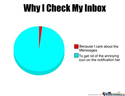 Inbox Meme - why i check my inbox by recyclebin meme center