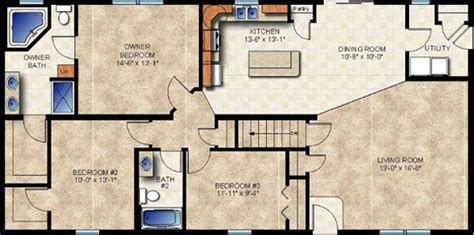 modular home basement floor plans home design and style