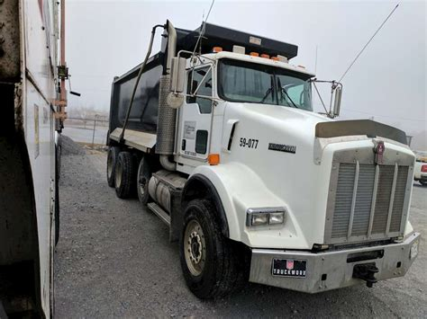2007 Kenworth T800 Dump Truck For Sale Montgomery Al