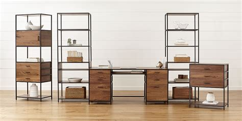 modular home office furniture modular office furniture crate and barrel