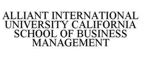 Alliant International Mba by Alliant International California School Of