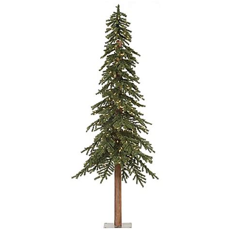 buy vickerman 8 foot natural alpine pre lit slim christmas