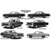 Of The Chrysler/Plymouth Valiant Duster Scamp And Dodge Dart Family