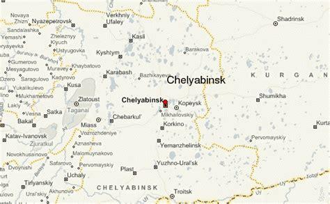 chelyabinsk map chelyabinsk location guide