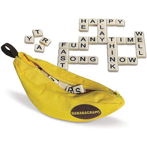 banana scrabble bananagrams the rainbow