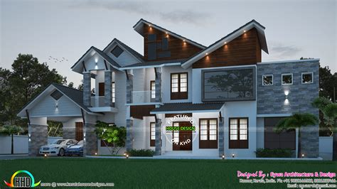 Ultra Modern Contemporary House Plans Contemporary Ultra Modern Luxury Home Kerala Home Design And Floor Plans