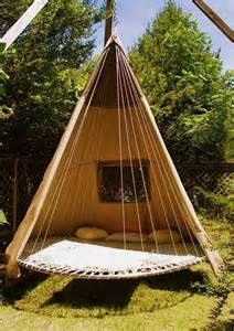 Cacoon Hanging Chair Designer Diy Idea Swinging Bed Made With A Recycled
