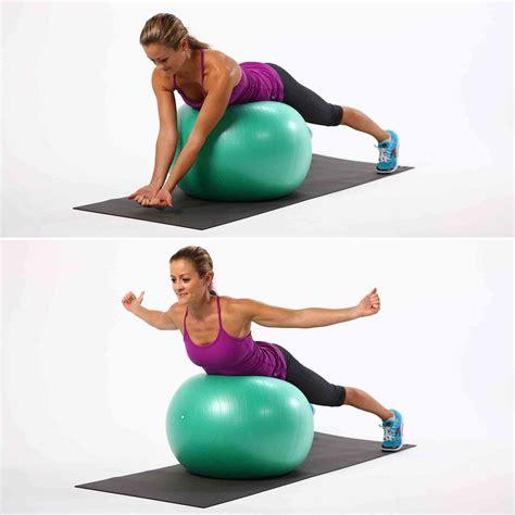 stability ball exercises  tone  popsugar fitness australia