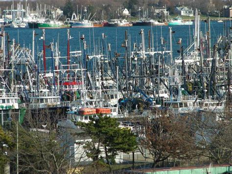new bedford ma fishing fleet photo picture image