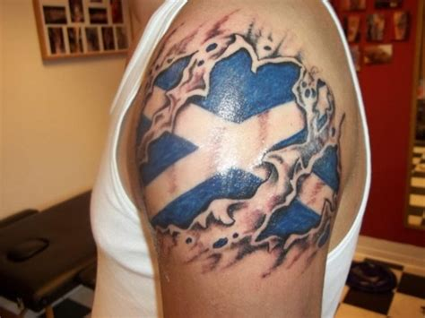 scottish flag tattoo designs 7 best flag tattoos images on flag tattoos