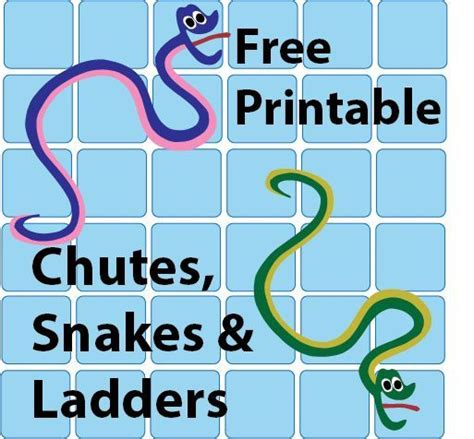 printable spanish board games free printable chutes and snakes and ladders plus other