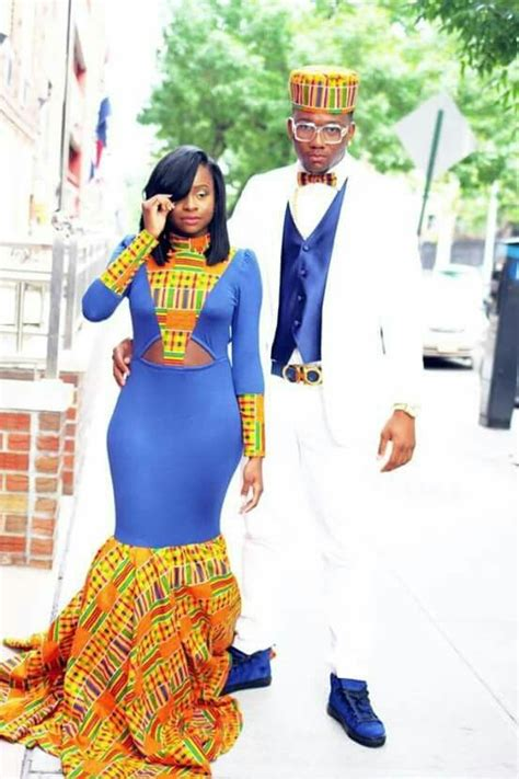 the best prom couples african american african themed prom dress prom dresses pinterest