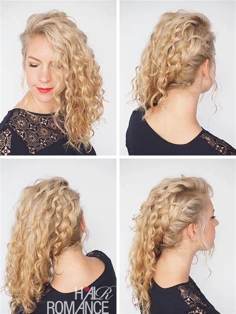 30 curly hairstyles in 30 days day 8 hair romance 30 curly hairstyles in 30 days day 10 hair romance