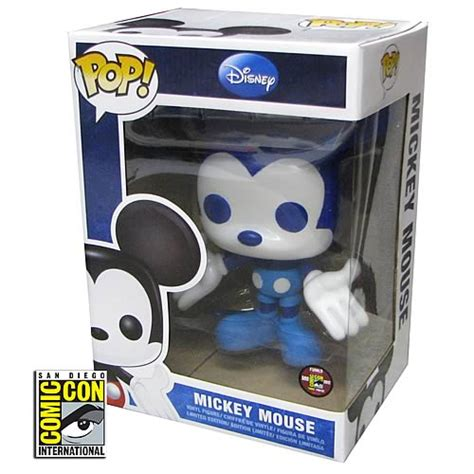 Funko Pop Mickey Mouse mickey mouse sdcc 2012 exclusive disney pop vinyl figure funko mickey mouse pop vinyl