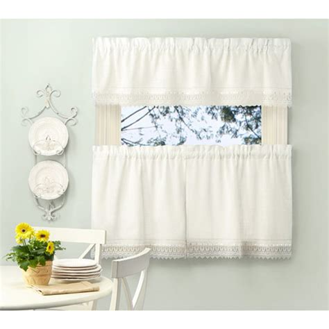 better homes and gardens kitchen curtains walmart curtain