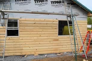 log cabin siding flickr photo