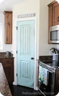 Painted Pantry Door by Pretty Pantry Door