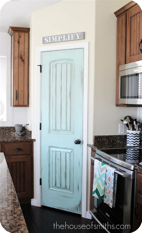 Painted Pantry by Painted Pantry Door Up