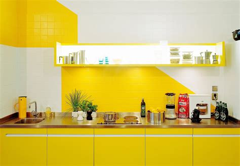 white and yellow kitchen ideas bright kitchen design with yellow color and white kitchen