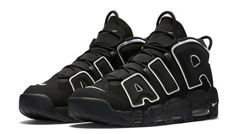 black uptempo nike air more uptempo black white 2016 sneaker bar detroit