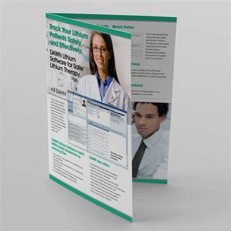 layout of patient information leaflet software company leaflets 4sdawn medical software a3