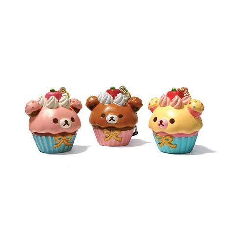 Squishy Rillakuma Cake rilakkuma cupcake squishy kawaii panda cuter