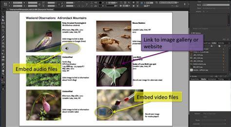 indesign creating interactive pdf software techademia