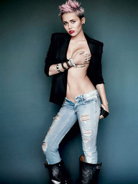 miley cyrus 7 art news magazine