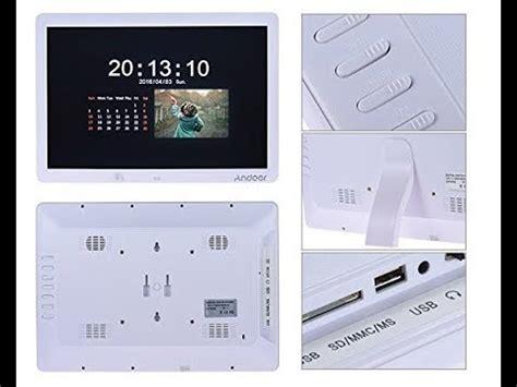 cornice digitale 15 cornice digitale 15 quot andoer sensore di movimento casse