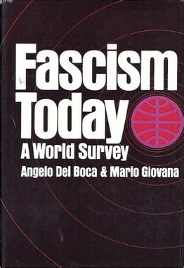 fascism today what it is and how to end it books fascism today