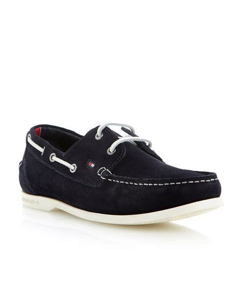 white hilfiger shoes hilfiger chino 9b lace up white sole boat shoes in