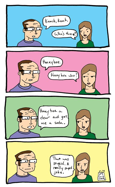 A Joke by Joke Comic Mini Dove Comics