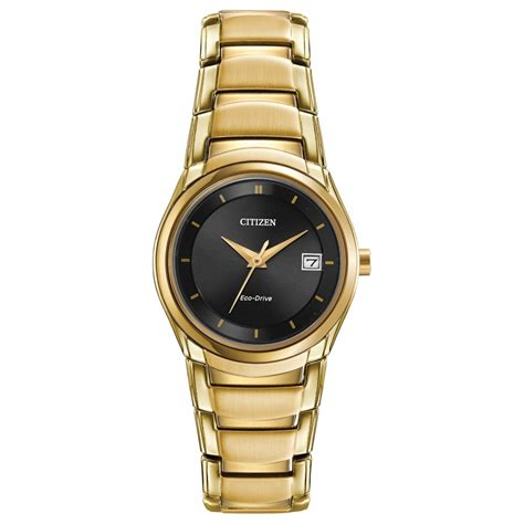 Citizen Gold citizen gold plated eco drive