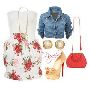 30 cute outfit ideas for spring summer polyvore 2015 pictures to pin