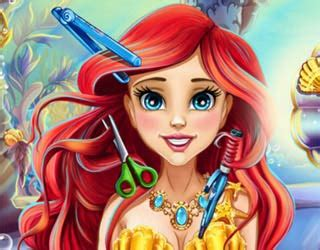 ariel hairstyles games play free ariel real haircuts