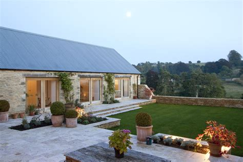 Bungalow House Design With Terrace Architecturally Striking Barn Conversion In