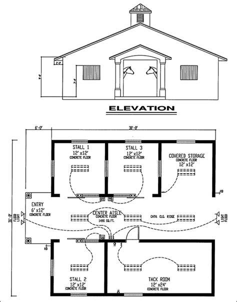 Easy Horse Barn Design Software | CAD Pro